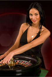 Live roulette in online casino